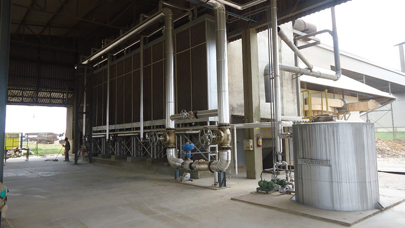 Engeman Biomass-Fired Boilers Heat Exchangers